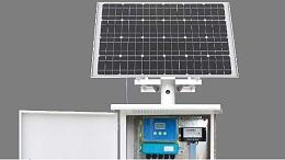 电源不方便,用太阳能流量计进行计量