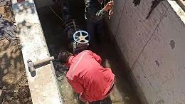 某湖河治理工程近百台电磁水表安装现场案例