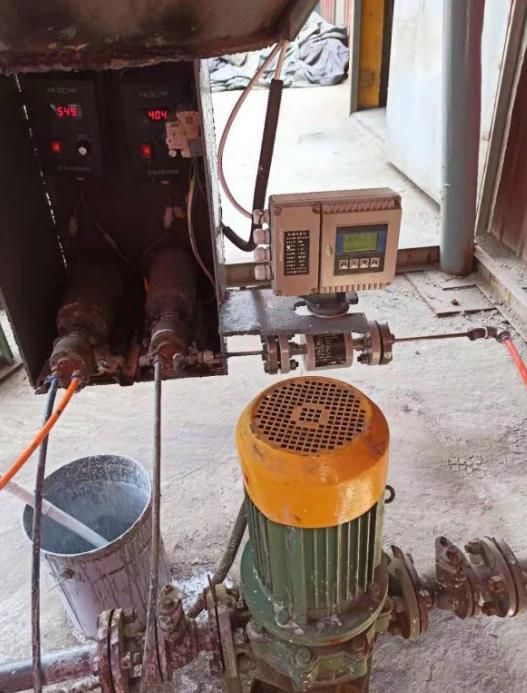 水泥厂用电磁流量计